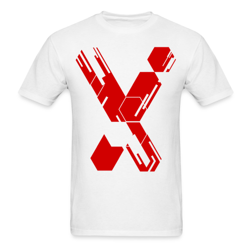 MC X - White & Red X - Limited Edition - Men's T-Shirt
