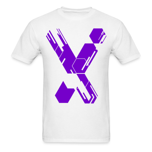 MC X - White & Purple X - Limited Edition - Men's T-Shirt