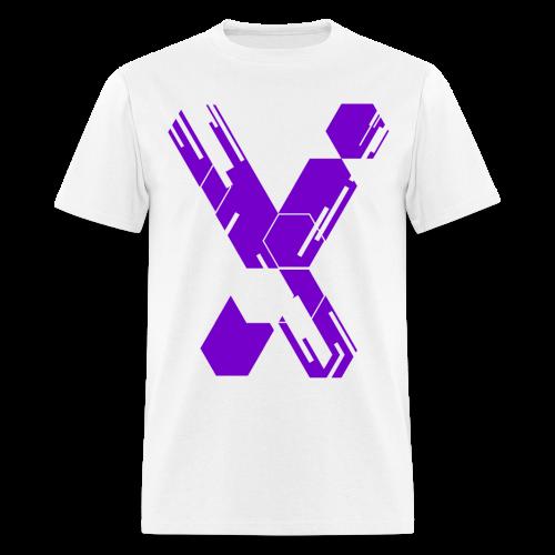 MC X - White & Purple X - Limited Edition - Men's T-Shirt