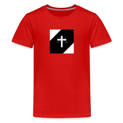 Where to Begin Alt Logo Men's T - Kids' Premium T-Shirt