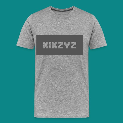 Kikzyz Clean Blocky Text T-shirt - Men's Premium T-Shirt