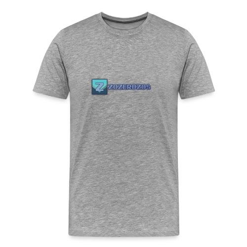 Men's Zozerozos Premium T-Shirt - Men's Premium T-Shirt