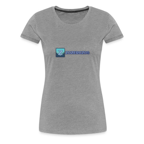 Women's Zozerozos Premium T-Shirt - Women's Premium T-Shirt