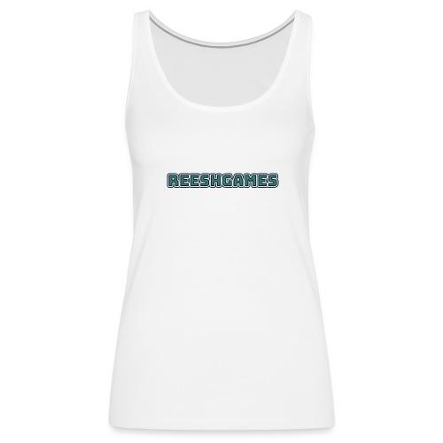 ReeshGames Logo Women's Tank - Women's Premium Tank Top