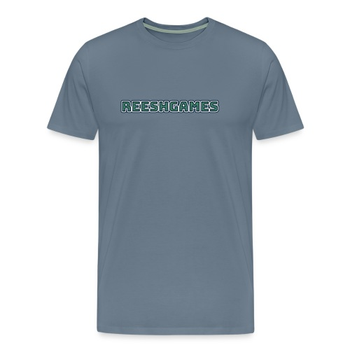 ReeshGames Logo Men's T-Shirt - Men's Premium T-Shirt