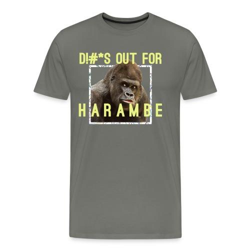 Harambe Tribute - Men's Premium T-Shirt