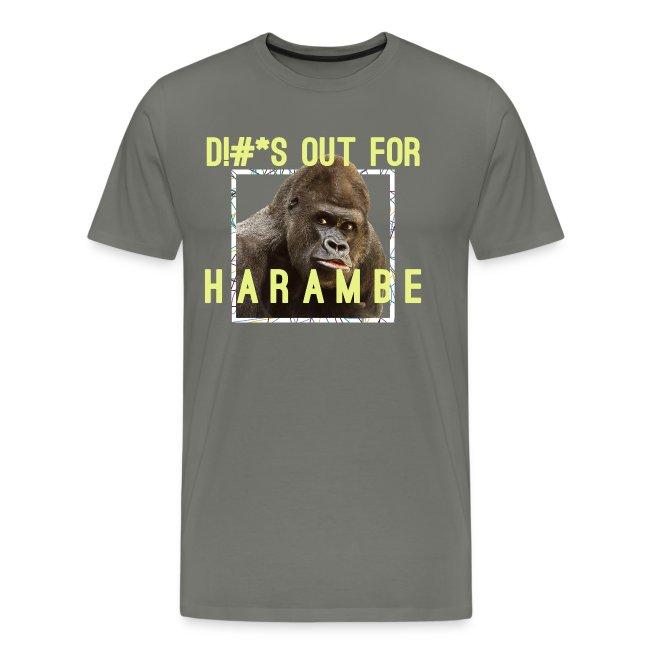 1137146 harambe tribute mens premium t shirt