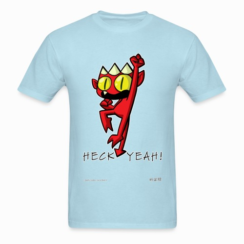 Heck Yeah Devil!  - Men's T-Shirt