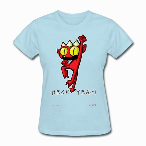 Heck Yeah Devil!  - Women's Tee - Women's T-Shirt