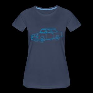 Car (Trabant) - Women's Premium T-Shirt
