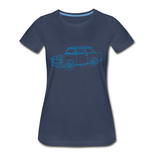 Car (Trabant) - Women's Premium T-Shirt