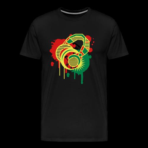 Reggae Beats - Men's T-Shirt - Men's Premium T-Shirt