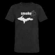 T-Shirts ~ Unisex Tri-Blend T-Shirt ~ Smoke U.P.