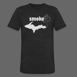 Smoke U.P. - Unisex Tri-Blend T-Shirt by American Apparel