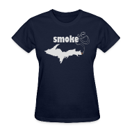 T-Shirts ~ Women's T-Shirt ~ Smoke U.P.