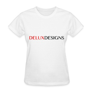 Women's White Delux Designs T-Shirt - Women's T-Shirt