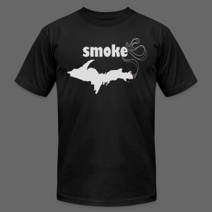 Smoke U.P. - Men's T-Shirt by American Apparel