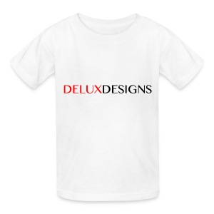 Kid's White Delux Designs T-Shirt - Kids' T-Shirt