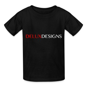 Kid's Black Delux Designs T-Shirt - Kids' T-Shirt