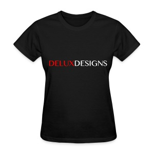 Women's Black Delux Designs T-Shirt - Women's T-Shirt