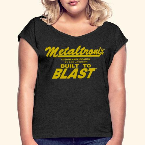 Metaltr  Women Shirt 2 - Women's Roll Cuff T-Shirt