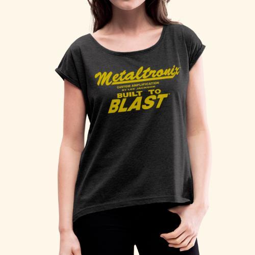Metaltr  Women Shirt 2 - Women's Roll Cuff T-Shirt
