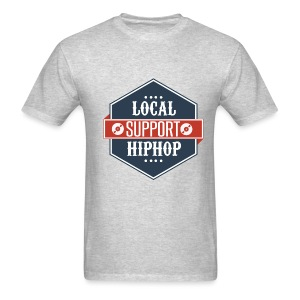Support Local Hip Hop: Guys - Men's T-Shirt