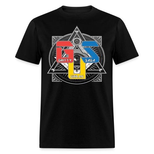 Gritty Illumina-TEE - Men's T-Shirt