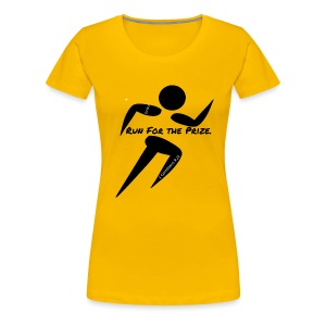 Run for the Prize - Women's Premium T-Shirt