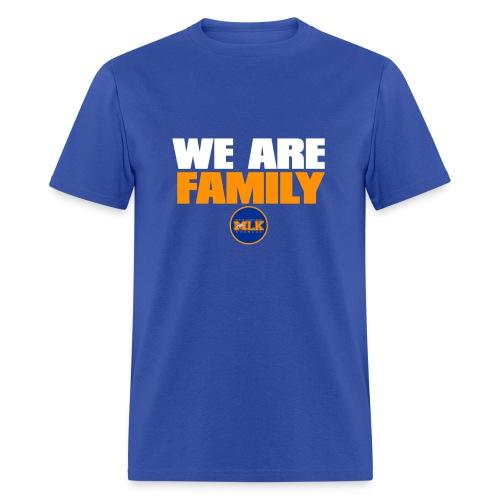 We Are Family MLK Broncos (Blue) - Men's T-Shirt