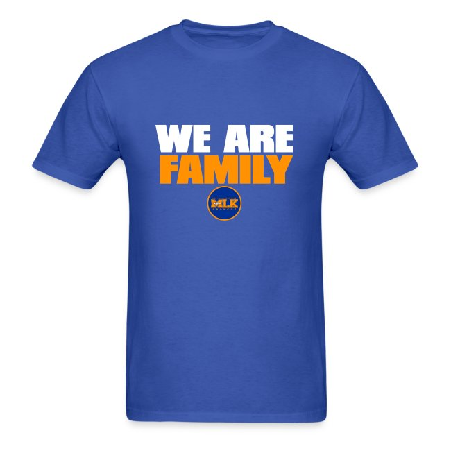We Are Family MLK Broncos (Blue)