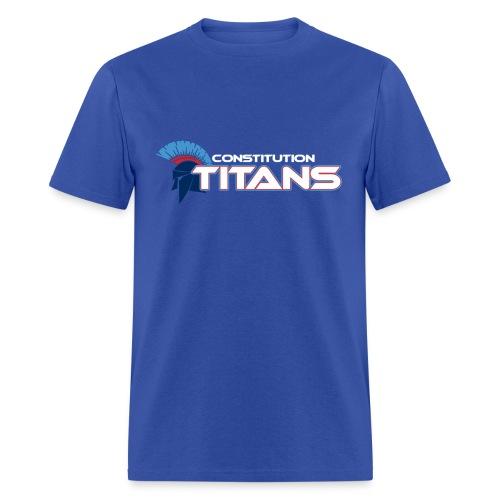Constitution Titans (Blue) - Men's T-Shirt