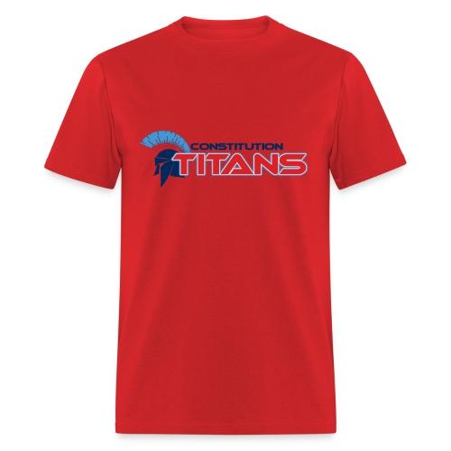 Constitution Titans (Red) - Men's T-Shirt