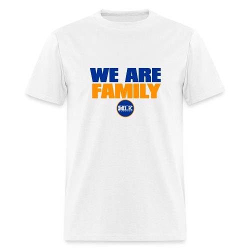 We Are Family MLK Broncos (White) - Men's T-Shirt