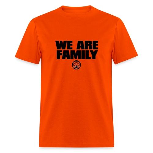 We Are Family Bengals (Orange) - Men's T-Shirt