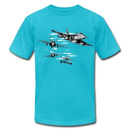 Salvo Super Hornet - Men's Fine Jersey T-Shirt