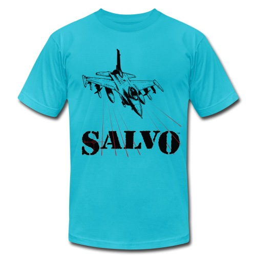 Salvo Fighting Falcon - Men's Fine Jersey T-Shirt
