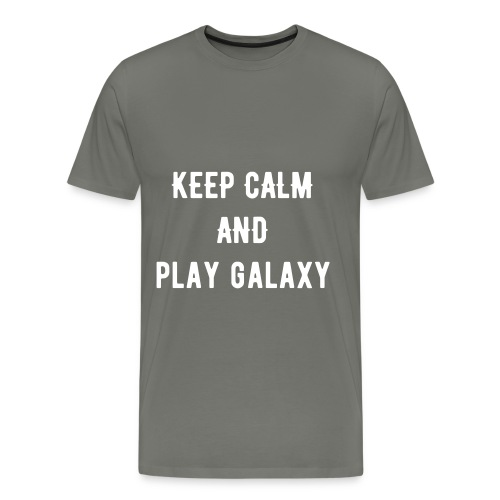 STAY CALM AND PLAY GALAXY - Men's Premium T-Shirt