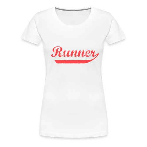 Runner - Women's Premium T-Shirt