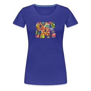 RAR Abstract Pattern Women's T-shirt - Women's Premium T-Shirt