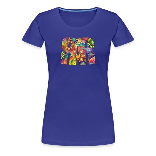 RAR Abstract Pattern Women's T-shirt - Women's Premium T-Shirt