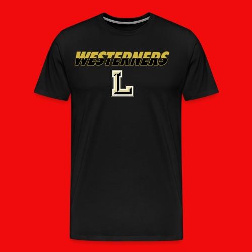 Westerners T-Shirt (w/ logo) - Men's Premium T-Shirt