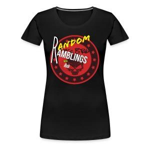 Random Ramblings w/Rob logo 2 - Women's Premium T-Shirt