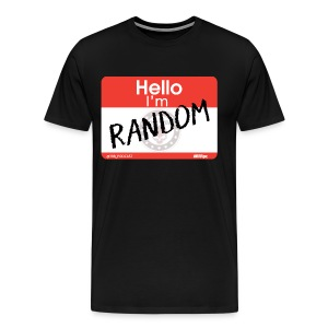 Random Ramblings w/Rob logo - Men's Premium T-Shirt