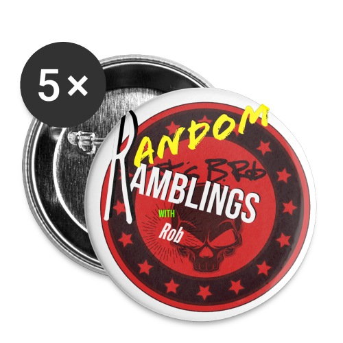 Random Ramblings w/Rob logo  - Large Buttons