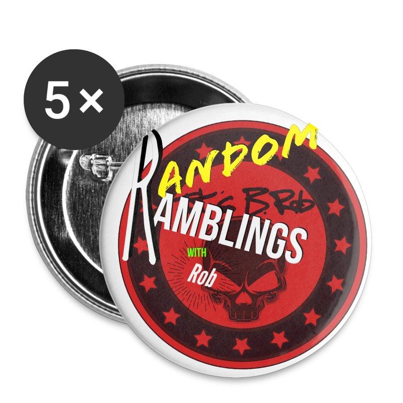 Random Ramblings w/Rob logo  - Small Buttons
