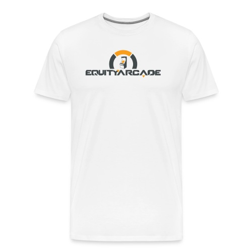 Equity Arcade Underwatch White - Men's Premium T-Shirt