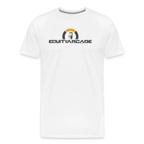 Equity Arcade Underwatch White - Men's Premium T-Shirt