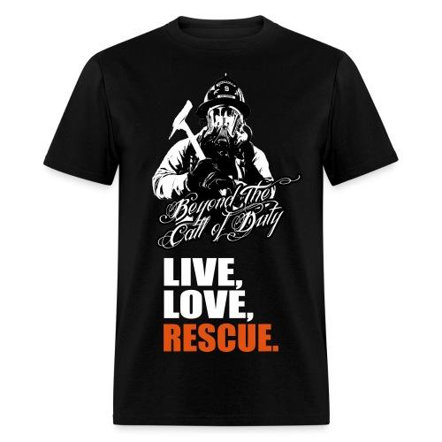 Firefighter Pride - Men's T-Shirt