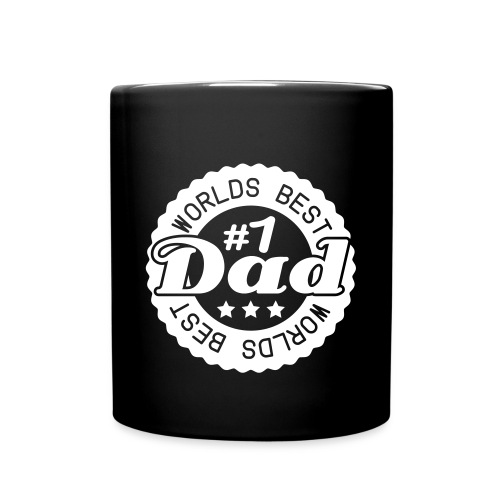 #1 Dad Mug - Full Color Mug